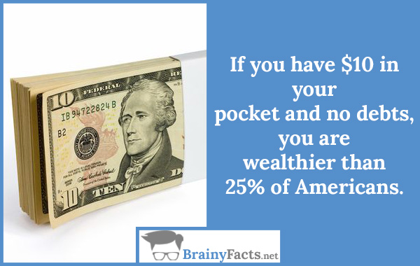 $10 in your pocket