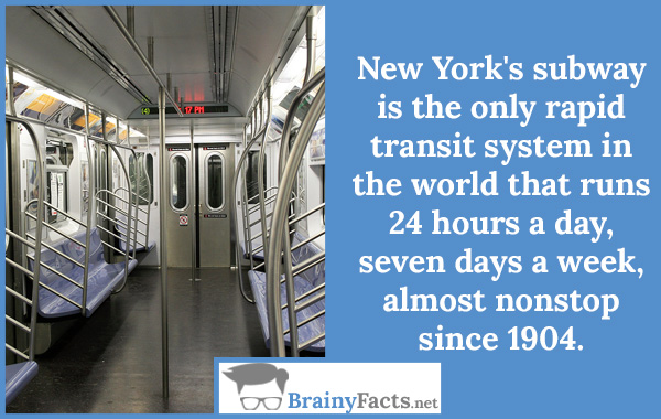 Random facts nyc subway did you know for 24 hour beauty salon nyc