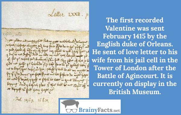 First Valentine Letter