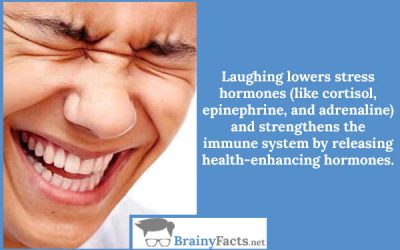 Laughing benefits