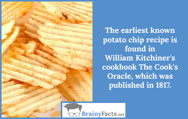 Potato chip recipe