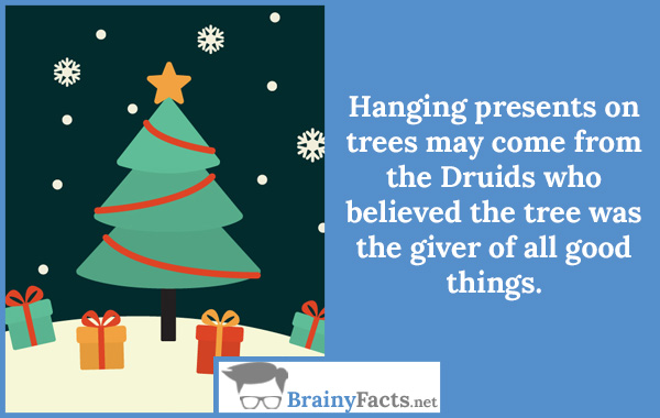 Presents on trees