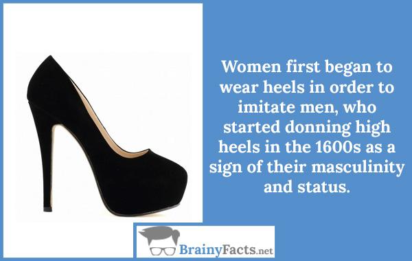 Wear heels