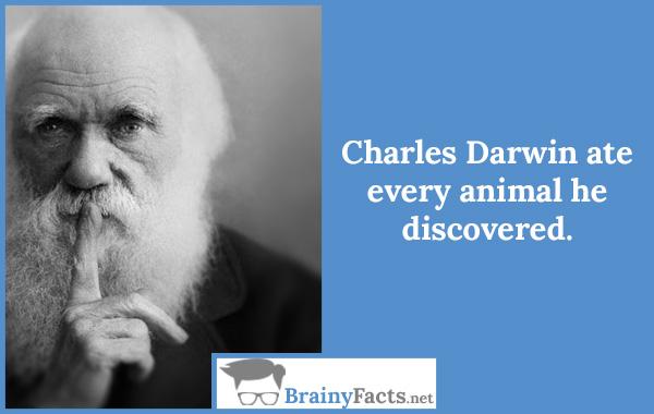 Charles Darwin…