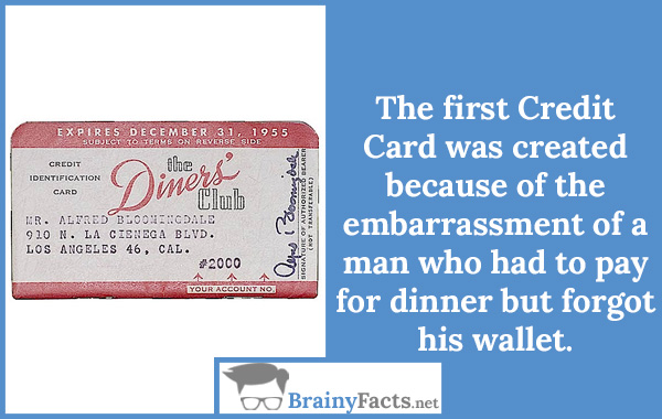 The first Credit Card