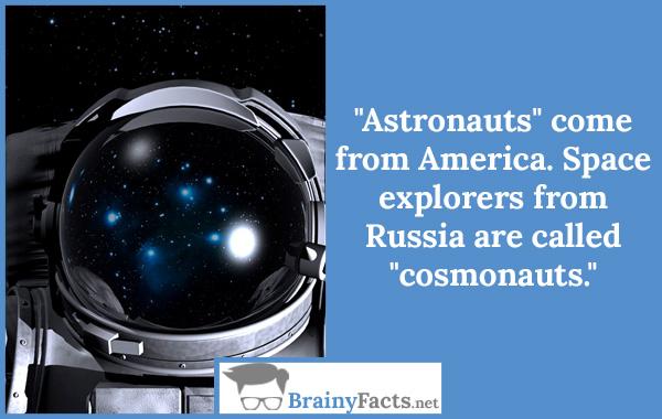 Astronaut vs Cosmonauts