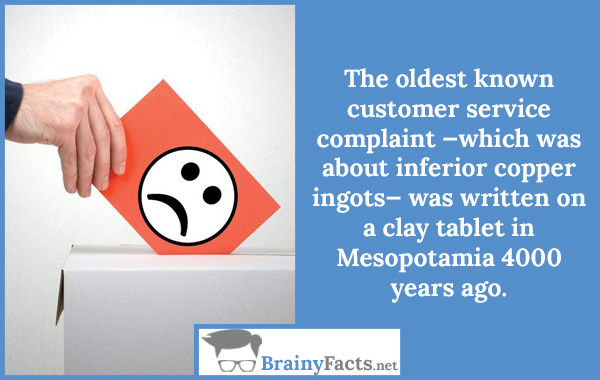 Customer service complaint