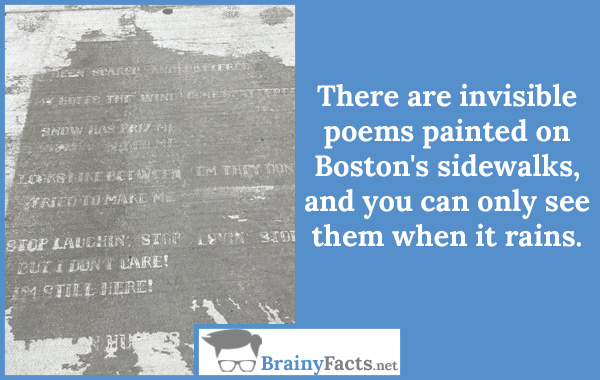 Invisible poems