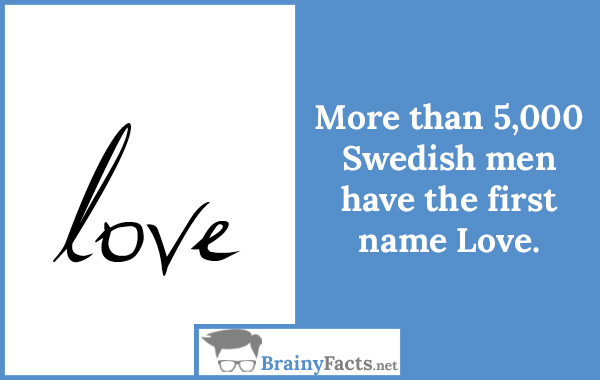 First name Love