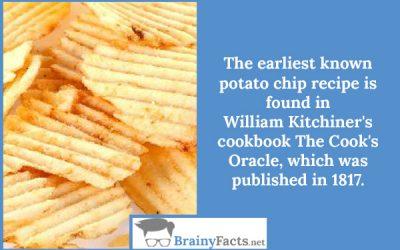 Potato chip recipe